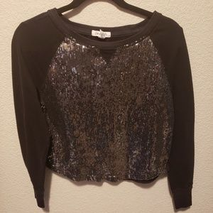 Aeropostale | sequined pullover long sleeve